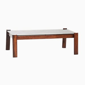 Mid-Century Modern Hardwood Coffee Table by Percival Lafer for Lafer
