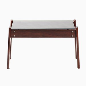 Mid-Century Modern Hardwood Side Table by Percival Lafer for Lafer