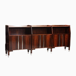 Mid-Century Modern Rosewood Long Sideboard from Dassi