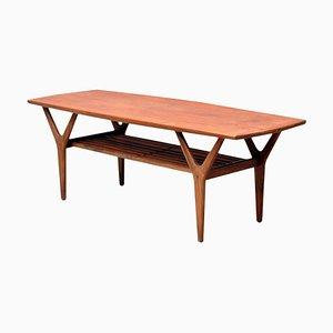 Table Basse en Teck par Henning Kjærnulf pour Vejle Stole- og Møbelfabrik, 1960s