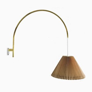 Minimalist Italian Adjustable Counterweight Brass Sconce, 1960s
