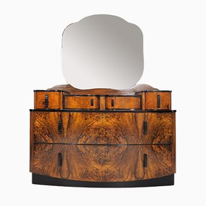 Dressing Table with Mirror by Jindřich Halabala for UP Závody, 1950s