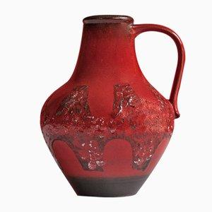 Red Vase from Dümler & Breiden, 1970s