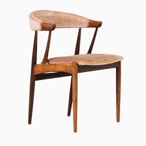 Rosewood Model BA113 Cowhorn Dining Chairs by Johannes Andersen for Andersen Møbelfabrik, 1960s, Set of 4