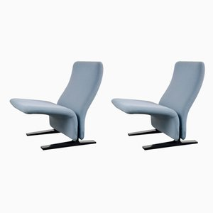 Concorde Side Chairs by Pierre Paulin for Artifort, 1960s, Set of 2
