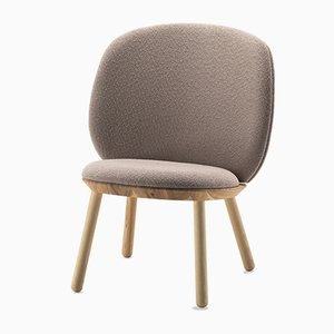 Naïve Low Chair in Beige by Etc.etc. for Emko