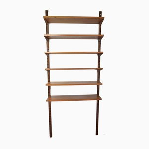 Danish Teak Shelving Unit Set by Poul Cadovius for Cado, 1960s, Set of 20