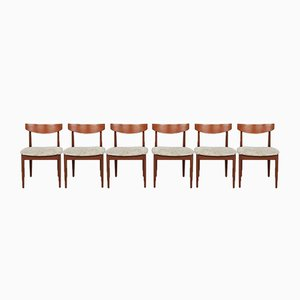 Mid-Century Danish Teak Dining Chairs from G-Plan, Set of 6