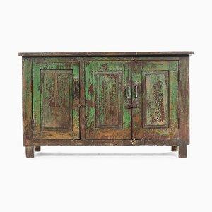 Credenza in legno verde, anni '40