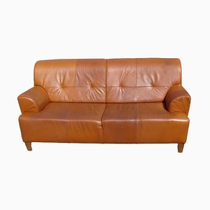 Vintage Leather Sofa, 1970s