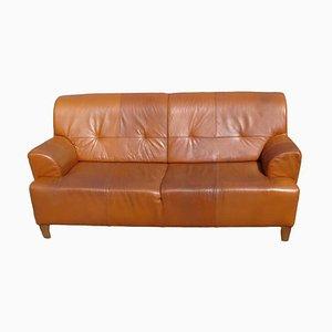 Vintage Leather Sofa, 1970s