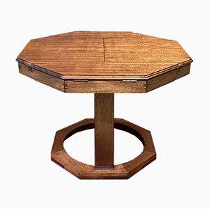 Teak Game Table, 1970s