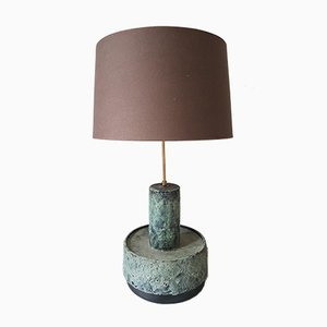 Mid-Century Dutch Ceramic Table or Floor Lamp from Dijkstra Lampen