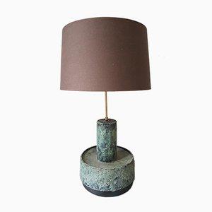 Mid-Century Dutch Ceramic Table or Floor Lamp from Dijkstra Lampen