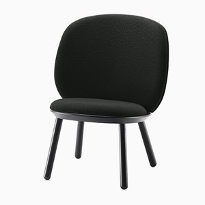 Naïve Low Chair in Black by Etc.etc. for Emko