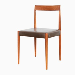 Mid-Century Teak Dining Chairs by Otto F. Pollak for Lübke, 1960s, Set of 5