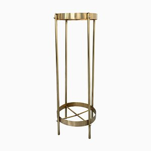 Brass Planter Stand or Pedestal, 1960s