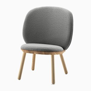 Naïve Low Chair in Gray by Etc.etc. for Emko