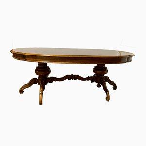 Tavolo da pranzo in stile Chippendale, anni '50