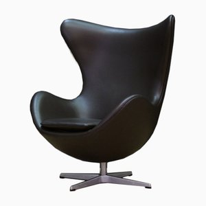 Danish Swivel Chair by Arne Jacobsen for Fritz Hansen, 1980s