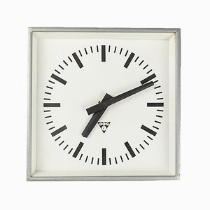 Square Table Clock by Pragotron