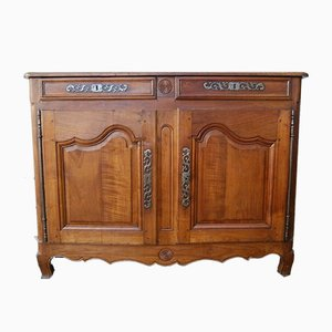 Antique Louis XV Cherrywood Sideboard