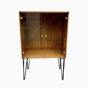 Vintage Glass Drinks Cabinet from Stag