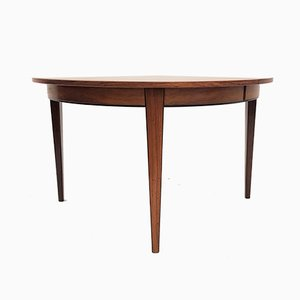 Rosewood Model 55 Extendable Dining Table from Omann Jun, 1960s