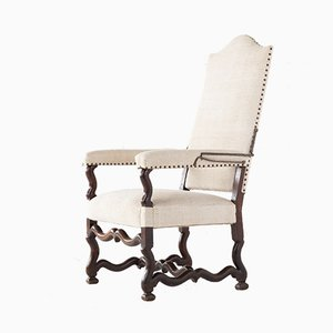 18th Century French Walnut Armchair