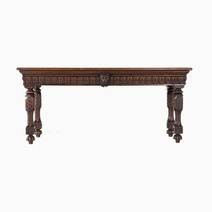 Antique George IV Oak Serving Table