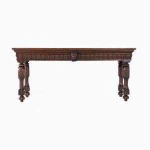 Tavolino Giorgio IV in quercia