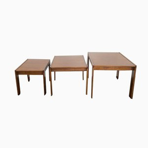 Model 777 Coffee Tables by Tobia & Afra Scarpa for Cassina, 1960s, Set of 3