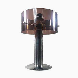 Plexiglas Table Lamp, 1970s