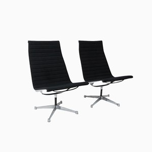 Alu Group Lounge Chairs by Charles & Ray Eames for Herman Miller, 1970s, Set of 2