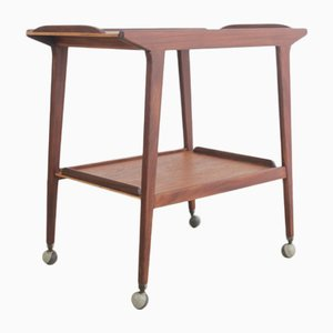Mid-Century Teak Serving Trolley