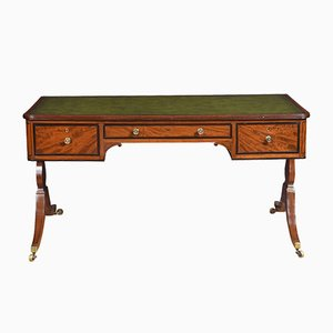 Antique Regency Mahogany Library Desk