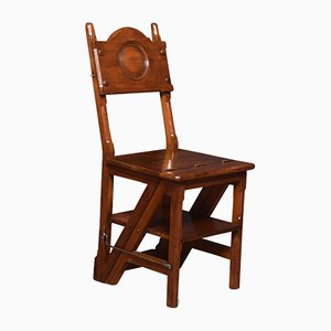 Antique Walnut Folding Chair