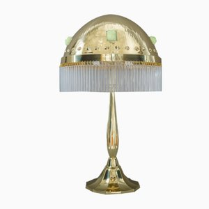 Art Deco Hammered Table Lamp, 1918