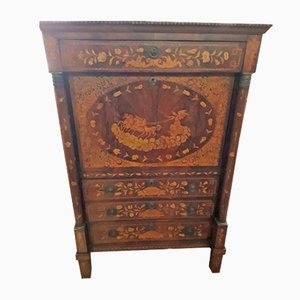 Empire Dutch Inlaid Secretaire