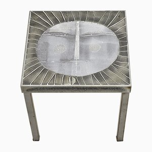 Mid-Century Sunb Coffee Table by Roger Capron, 1960s