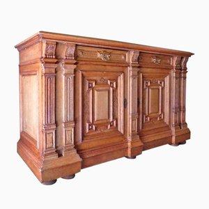 Wilhelminian Style Oak Sideboard, 1800s