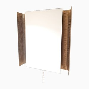 Mid-Century Perforated Illuminated Mirror by Floris Fiedeldij for Artimeta, 1960s