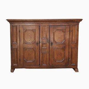 Baroque Oak Sideboard, 1780s
