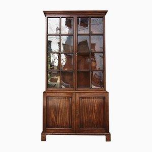 Antique English Mahogany Bookcase
