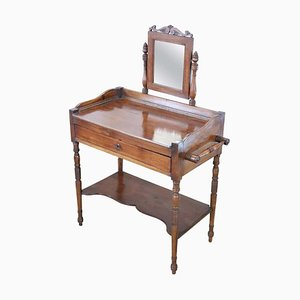 Antique Walnut Dressing Table, 1820s