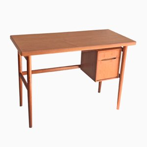 Mid-Century Danish Teak Desk by Kurt Østervig, 1950s