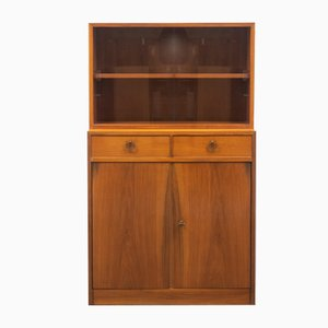 Highboard with Showcase Top, 1950s