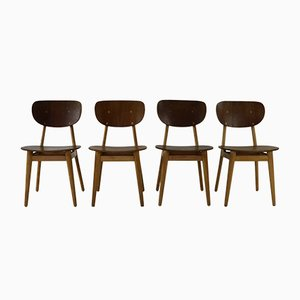 Dining Chairs by Cees Braakman for UMS Pastoe, 1950s, Set of 4
