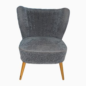 Mid-Century Gray Club Chair, 1950s