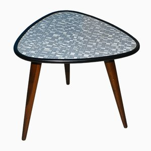 Mid-Century Mosaic Pattern Formica Side Table from Ilse Möbel, 1950s